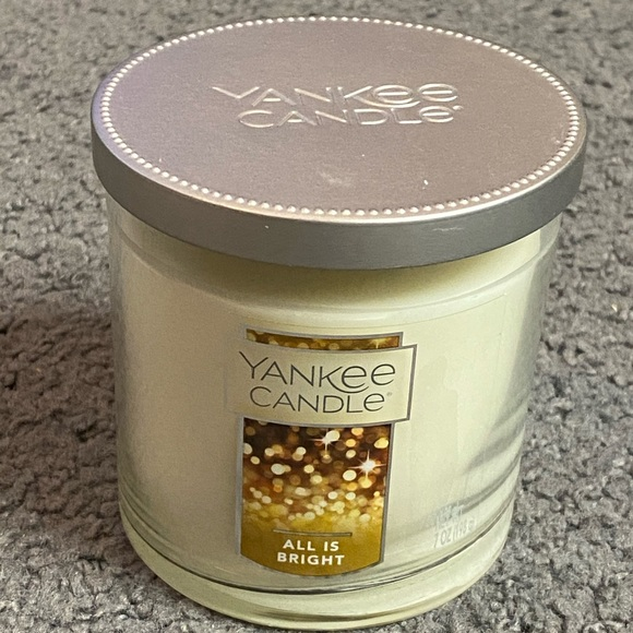 Yankee Candle All Is Bright Small Tumbler Candle
